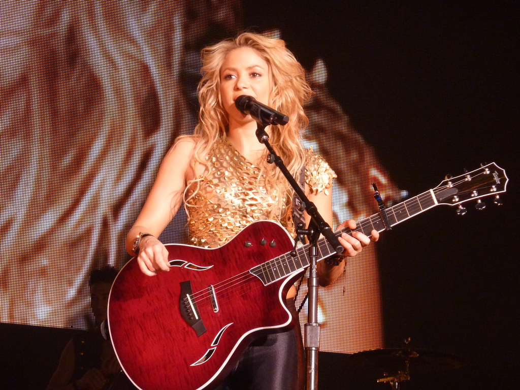 Coiffure Shakira